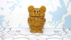 A personal favourite from my Etsy shop https://www.etsy.com/uk/listing/494476490/teddy-bear-honey-pot-and-lid-bear