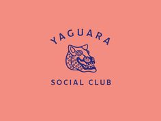 Yaguara by Blake Cale Logos, Typography Logo, Logo Branding, Branding Design, Logo Label, Inspiration Logo Design, Film Inspiration, Tattoo Graphic, Design Movements