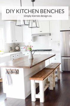 Diy kitchen benches kitchen benches bench and kitchens solutioingenieria Gallery