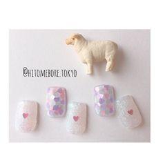 綺麗すぎ…!インスタに投稿されてる『#冬ネイル』が超参考になる* | GIRLY Trendy Nail Art, Burgundy Nails, Disney Nails, Crystal Nails, Gorgeous Nails, Simple Nails, Nail Arts, Pink Nails, Cute Nails