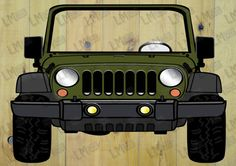 EXtra Large Army Green Jeep Style Photo Booth Prop by LMPhotoProps