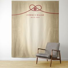 Shop Red Knot Double Happiness Wedding Photo Backdrop created by fatfatin_red_knot. Photo Backdrop Stand, Diy Backdrop, Backdrops, Backdrop Wedding, Gold Foil Background, Modern Minimalist, Vivid Colors, Picnic Blanket, Wedding Photos