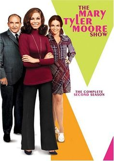 Mary Tyler Moore...I admired the character Mary Tyler Moore played...she was a Broadcast Journalism major trying to get her career going on that show...she was an independent woman living on her own and I loved that!!!