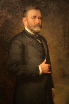 Ulysses S. Grant - Presidential Portrait Gallery, Washington, D.C. Grant served as President from 1869-1877.