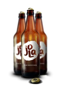 JOLA - HOME BREWED BEER by INELO Design Studio, via Behance #packaging #design