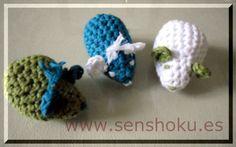 Kit para elaborar 18 ratolins en algodón DROPS Cotton Light. A los peques les encantan, ideales por ejemplo como detalle en cumpleaños. Disponible en nuestra web http://www.senshoku.es/shop/article_KIT2/KIT-RATOLINS-ALGOD%C3%93N.html