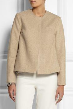 Roksanda Ilincic | Delmore wool-felt jacket | NET-A-PORTER.COM