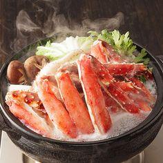 [ご当地ギフト:北海道]たらばがにの脚・身をたっぷりと。【たらばがに かに鍋しゃぶしゃぶセット】