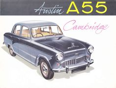 Austin A55 Cambridge 1957 Brochure