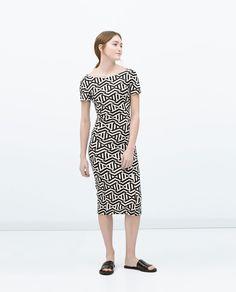 ZARA - WOMAN - DRESS WITH LOW-CUT BACK