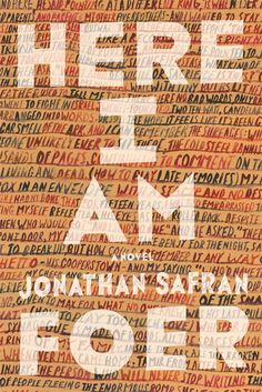 Book Cover of the Week: 'Here I Am'—Jonathan Safran Foer's first novel in over a decade!