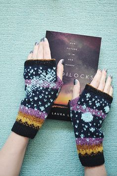 Ravelry: The Goldilocks Zone pattern by Dianna Walla Shetland Wool, Beautiful Cover, Yarn Colors, Cover Art, Arm Warmers, Thriller, Ravelry, Projects To Try, Concept