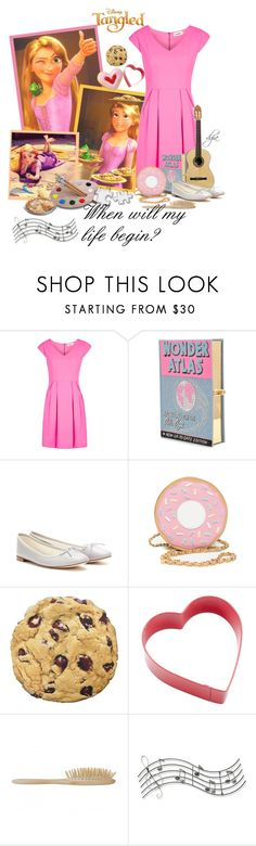 """Disney song"" by dgia ❤ liked on Polyvore featuring Disney, Louche, Classique, Olympia Le-Tan, Repetto, Wilton and Music Notes"