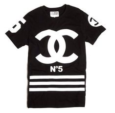 Coco Chanel homme femme shirt by Houseoffrancois on Etsy, $65.99 Black/LG !!!!!!!!!!!!