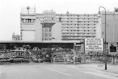 Berlin Wall at Zimmerstrasse - Axel-Springer Strasse, 1980's