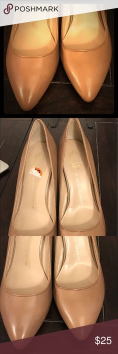 NEW Franco Sarto wedge heels- beige/taupe New Franco sarto beige/taupe wedges. Never worn, super cute for day or night. Franco Sarto Shoes Wedges