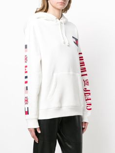 Tommy Hilfiger 90s Flag Hoodie Tommy Hilfiger Hoodie, My Person, Put On, Hooded Jacket, Flag, Athletic, Hoodies, Sweaters, Jackets