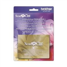 Pack Premium 1 ScanNCut Canvas Brother - BROTHER - Ets Stecker Bertrix