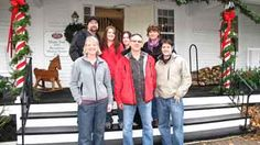 The crew of Ghost Hunters and the Christmas Farm Inn staff