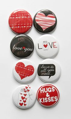 Love is All You Need Flair #aflairforbuttons #flairbuttons #projectlife
