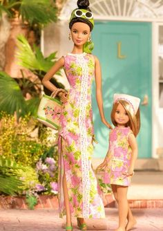 Lilly Pulitzer Barbie & Stacie Giftset (New)