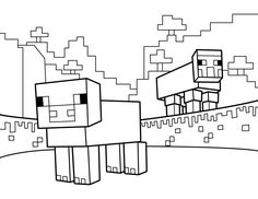 minecraft coloring pages free printable minecraft pdf coloring sheets for kids - Minecraft Printable Coloring Pages