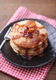 Med sirup og bacon