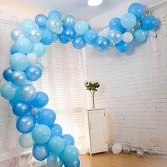 Balloon Columns, Balloon Arch, Balloon Garland, Balloon Decorations, Baby Shower Decorations, Patriotic Decorations, Wedding Decorations, Small Balloons, Confetti Balloons
