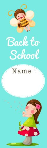 Free Cute Bookmarks Back to School Printable Gift - Best Gift Ideas Blog