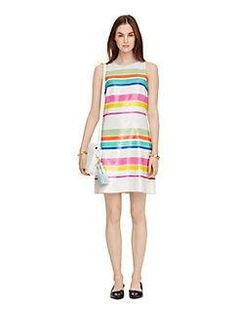 cape stripe sequin dress by kate spade new york