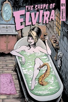 SHAPE OF ELVIRA #1 CVR A DYNAMITE NM 1ST PRINT 2019