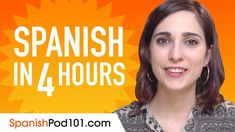 Learn Spanish in 1 Hour - Improve your Spanish Conversation Skills Why Learn Spanish, Spanish Basics, Spanish Lessons, Learn French, Spanish Class, Learning Ability, Learning Goals, Learning Resources, Learning Italian