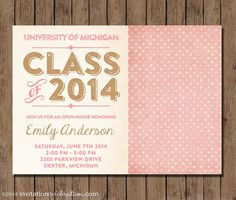 44 best graduation invitations images on pinterest in 2018 retro pink and gold graduation invitation printable by invitationceleb 1500 pinkandgold graduation filmwisefo