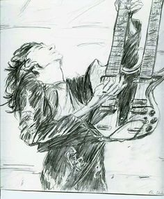 Jimmy Page artwork: artist unknown.