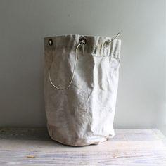 Vintage Bag Canvas Sack