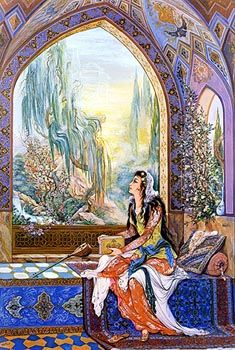 Persian Arts - Asar Gallery of Art http://www.persianpaintings.com