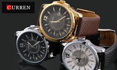 Stylové pánské hodinky Curren - doručení zdarma   Sleva hodinek