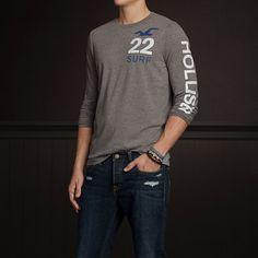 Guys Diver's Cove T-Shirt/ Hollister