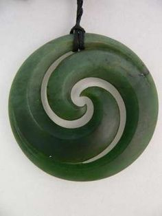 Koru Pounamu. My son just got his first koru pendant and it's a really nice piece to get for a child or a teenager. Nice for anyone though.