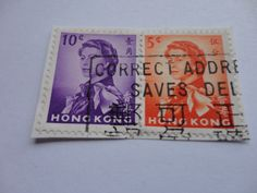 10 cents,5 cents Oriental Postage Stamp