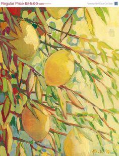 Northwest artist JENNIFER LOMMERS - Lemon Tree