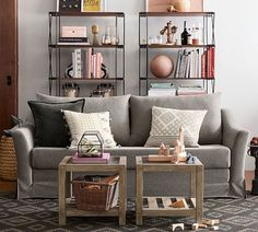 Pottery Barn's New Small Spaces Collection Just Made Decorating Your Small Home So Much Easier | Glamour