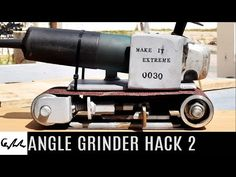 The second angle grinder hack from the Make It Extreme team is here and it aims to transform the angle grinder into a belt sander...