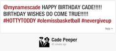 Rebs beat Wisconsin in 2nd round of NCAA Tournament on Cade's birthday