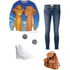 Naaaaawsaaaaabuuuunyaaaa by ms-g-jackson on Polyvore featuring polyvore, fashion, style, Frame Denim, Timberland, Doucal's and Demitasse