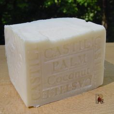 Castile Coconut Oil - Palm Oil Bar Soap with Cocoa Butter (Bar Soap) Natural Handcrafted Soap LLC http://www.amazon.com/dp/B00FCKD18G/ref=cm_sw_r_pi_dp_Ccf4tb0TMAW3WV3B