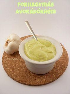 Megfőzlek...: Fokhagymás avokádókrém Gluten, Sugar, Healthy, Ethnic Recipes, Food, Essen, Meals, Health, Yemek