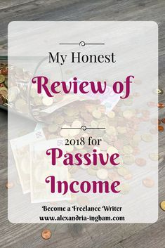 Can you make money with passive income in 2018? I take an honest look at the state of residual income sites and what you should be doing this year. You may not like the idea of it, but it is important.