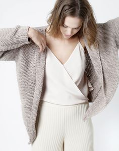 Jolie Mimi Cardigan by Wool and the Gang