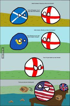 "England's ""Friends"""